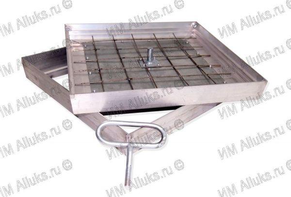 Заполняемый алюминиевый съемный напольный люк